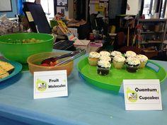 Fruit Molecules & Quantum Cupcakes. Story Laboratory Book Fair.  Teacher Preview.  Warrior Library