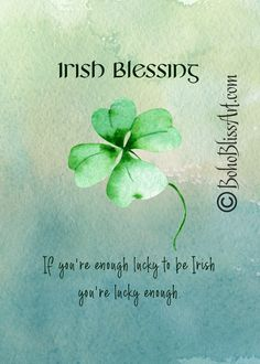 Irish Blessing: If you're enough lucky to be Irish you're lucky enough. Irish Quotes, Irish Sayings, Irish Rovers, Ireland With Kids, St Patricks Day Quotes, Old Irish, Irish Eyes Are Smiling, Ireland Travel, Scotland Travel