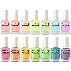 Color Club Poptastic Pastel Neon  Remix Collection 2015 Set of 14 Colors >>> To view further for this item, visit the image link.