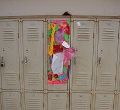 Decorate a School Locker for a Birthday Lockers Birthdays and School