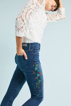 36ced91e183d AG The Farrah High-Rise Skinny Jeans