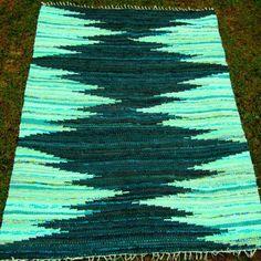 Shop Green Rag Rug on Wanelo