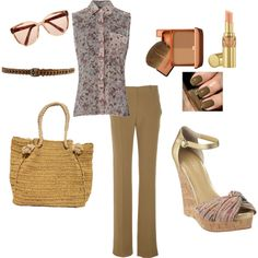 Teacher outfit...., created by msapples on Polyvore