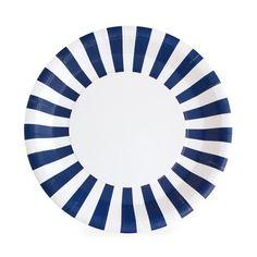 Navy Blue Dinner Plates / Navy Striped Paper Plates / Navy Paper Plates / Nautical Party Plates / Na Navy Party, Nautical Party, Football Party Supplies, Baby Shower Plates, Blue Dinner Plates, Baby Shower Party Supplies, Party Plates, Dessert Plates, Twinkle Twinkle Little Star