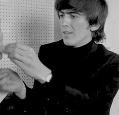 George Harrison-A Hard Day's Night,1964-FIGHT FOR MAKE UP