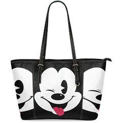 Disney Discovery- Mickey Faces Shopping Tote