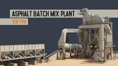Atlas asphalt batch mix plant installed near Radhanpur, India.  Batching plants capacities: 80 tph | 120 tph | 160 tph  #AsphaltBatchMixPlant #AsphaltBatchingPlants #HotMixPlant #AsphaltMixingPlant