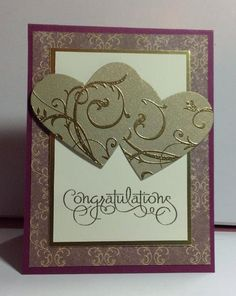 Golden Anniversary card by Lynnwoll - Cards and Paper Crafts at Splitcoaststampers