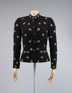 Elsa Schiaparelli Evening jacket 1938 - 39
