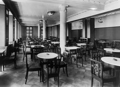 Helsinki - Department Store Elanto´s restaurant, No 1 in Kluuvikatu 5. Author : Unknown, 1932 ©Helsinki City Museum. https://hkm.finna.fi/