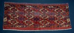 Antique TURKMEN Trappings at Brian MacDonald Antique Rugs & Carpets - Stock