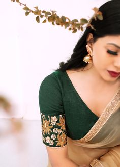 A one-stop online platform offering the widest variety of popular and trendy ethnic fashion for all Sari Blouse Designs, Fancy Blouse Designs, Saree Photoshoot, Organza Saree, Stylish Sarees, Saree Look, Elegant Saree, Saree Styles, Saree Blouse