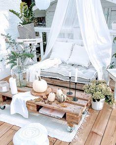 ▷ 1001 + great tips and ideas for your cocooning balcony decor, # tips . - ▷ 1001 + great tips and ideas for your cocooning balcony decor, # tips - Outdoor Spaces, Outdoor Living, Balkon Design, Apartment Balconies, Apartment Balcony Decorating, Backyard Patio, Pergola Patio, Pergola Ideas, Decks