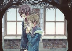 Code Geass - Lelouch vi Britannia (Lamperouge) and Rolo Lamperouge