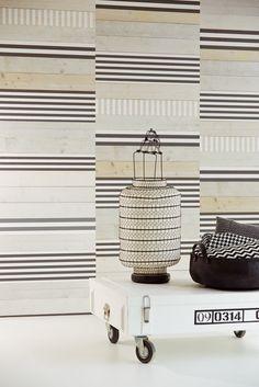 Bloom wallpaper collection by Eijffinger 340094 - modern take on a striped wallpaper wallpapershop.com.au