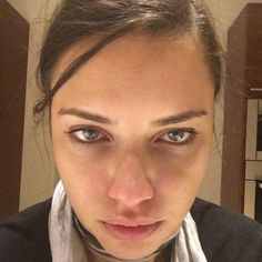 <p>When: Feb. 3, 2016 <br /> The supermodel took this gorgeous makeup-free selfie after a 10-hour work day. (Photo: Instagram) </p>