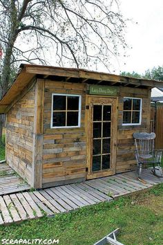 15 Awesome Pallet Houses & Shelters
