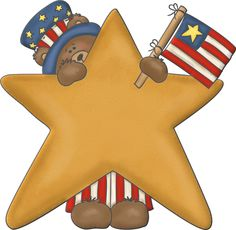 4th of july country. Best fourth clipart