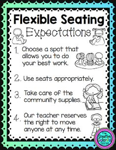 How Flexible Seating Transformed My Classroom | The TpT Blog                                                                                                                                                                                 More