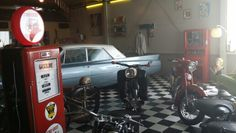 Museum Terug in de Tijd in Horst (The Netherlands). A great flashback in time! A must see if you like vintage stuff.