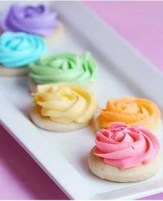 Rose Cookie Tutorial with Sugar Cookie & Awesome Cookie Icing Recipes !