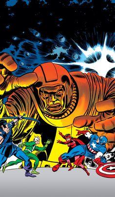 The Avengers vs Kang