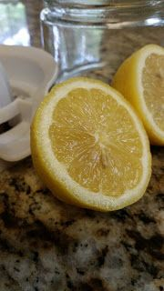 Comfort Food: My Family Recipes: Lemon water...Drink it!