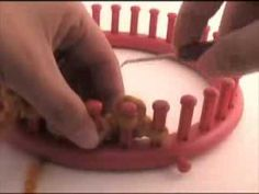 U-Stitch on a Knitting Loom