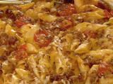this picture looks crazy, but it was CRAZY good. Spicy Macaroni and Cheese with Chorizo Sausage