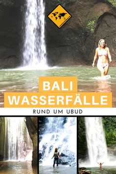 There are so many waterfalls around Ubud in Bali. But what are … - Travel Yakyak Ubud, Bali Travel, Work Travel, Time Travel, Africa Destinations, Holiday Destinations, Travel Destinations, Bali Lombok, Best Places In Bali