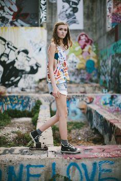 Graffiti + Fashion!