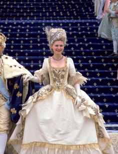 Kirsten Dunst in the title role of Marie Antoinette (2006).