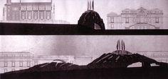 1995 AMPLIAMENTO MUSEO PRADO MADRID by Brunetto De Batté & Ermanno Ranzani coll. Elisabetta Brandinelli e Lucia Sponza