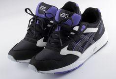 1287 Asics Gel Saga II | Black & Purple