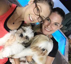 Amo  ! Night Night com foto da visita mais que especial de hj @mifeilstrecker e Mel amamos recebê-las!!!!