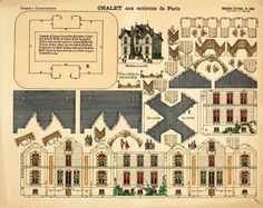 Castle in the Air is offering Where Women Create readers a gorgeous printable version of one of their Victorian paper house models.  You just have to print, cut, fold and fit them together, add a little glue and you have your own gorgeous model of a Victo