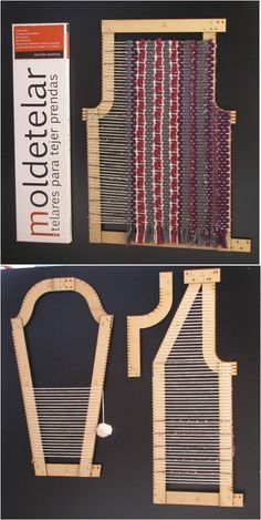 52 Ideas For Knitting Loom Basket Diy Tutorial Pin Weaving, Loom Weaving, Weaving Textiles, Tapestry Weaving, Tablet Weaving Patterns, Weaving Projects, Weaving Techniques, Fabric Manipulation, Loom Knitting