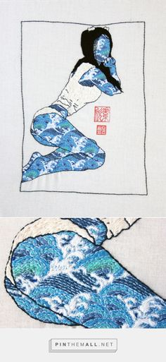 Embroidery | Jessica So Ren Tang - created via https://pinthemall.net