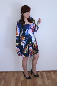 Back to the Future Skater Dress $120AUD