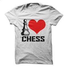 I Love Chess - #short sleeve sweatshirt #wholesale sweatshirts. SIMILAR ITEMS => https://www.sunfrog.com/Faith/I-Love-Chess-61369085-Guys.html?60505