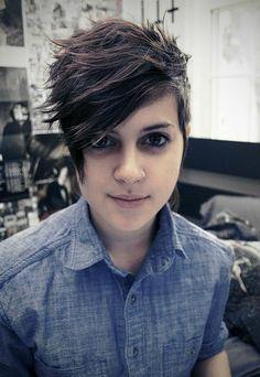 Short Lesbian Hairstyles 23