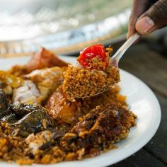 Thiebu Djen (Rice with Fish) - Senegal, West Africa