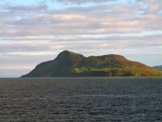 Holy Isle and the Cave of St. Molaise; Arran, Scotland....Been to Arran years ago, would love to venture back and have a closer look