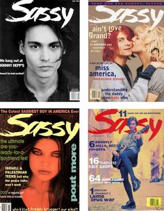 Sassy Magazine....best part of the 90's for me