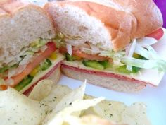 Italian Sandwich Italian Sandwiches, Best Sandwich, Cheesesteak, Recipe Ideas, Salads, Beans, Cooking Recipes, Soup, Favorite Recipes