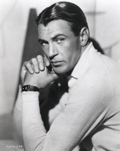 Gary Cooper: another one to fall for