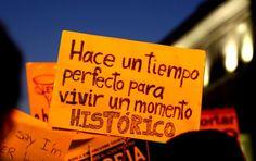 """""""Hace un tiempo perfecto para vivir un momento histórico""""...  Abre tu mente. Cada día puede ser """"histórico"""". Por eso, vive la vida y aprovéchala. Si tienes que actuar, haz lo correcto pero con alegría. Ten fe en lo que quieres. La historia, la escribes tu."""