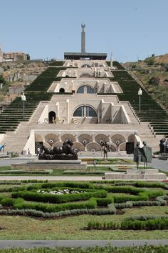 The Cascade, Yerevan, Armenia by Bill Hocker   - Explore the World with Travel Nerd Nici, one Country at a Time. http://TravelNerdNici.com