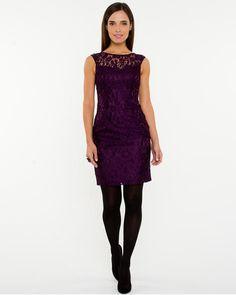 Lace Scoop Back Cocktail Dress $140cad