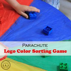 Preschool Color Game Using Legos